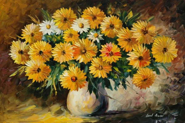 flower vase painting images Fresh 35 Awesome Flowers Painting